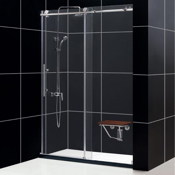Tt Manhattan 48 Fully Frameless Shower Door Ds Ef12 1232 Terrific