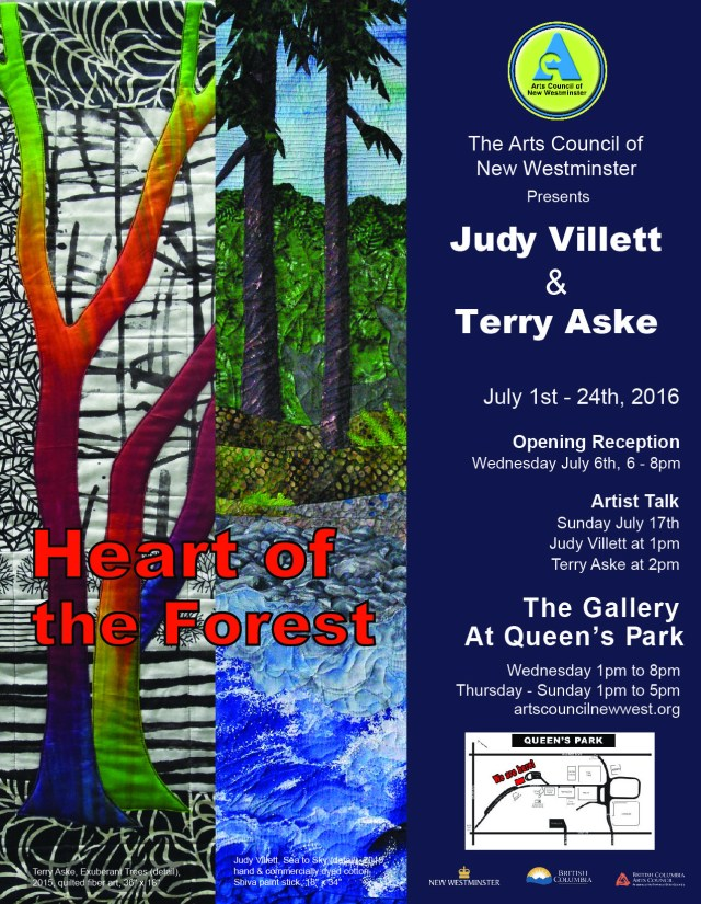 ACNW - Heart of the Forest - Poster - July 2016