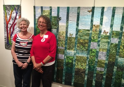 Terry Aske and Judy Villett and their art