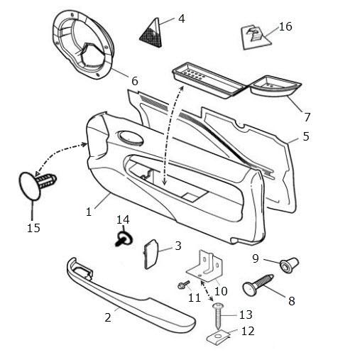 lexus is300 intake parts diagram