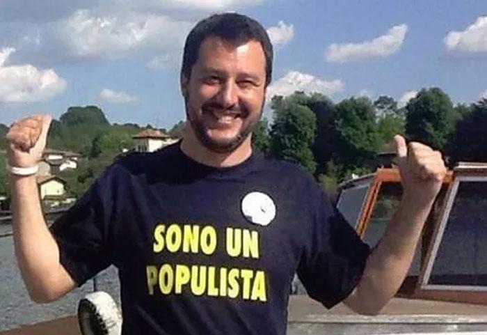 Salvini contestato alla Montagnola,