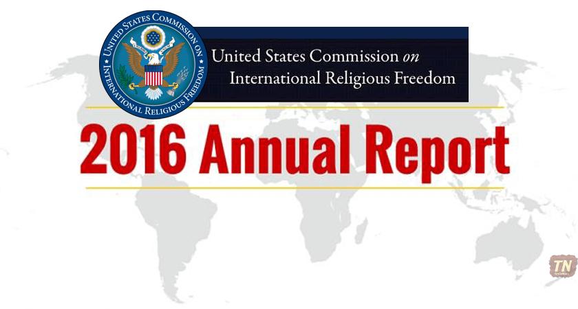 uscirf 2016 annual report - Eritrea