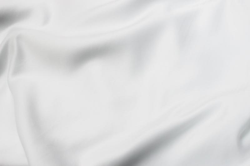 White Peau De Soie Tesoro Event Rentals