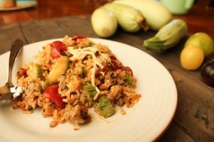 Zucchini Rice Casserole-3328