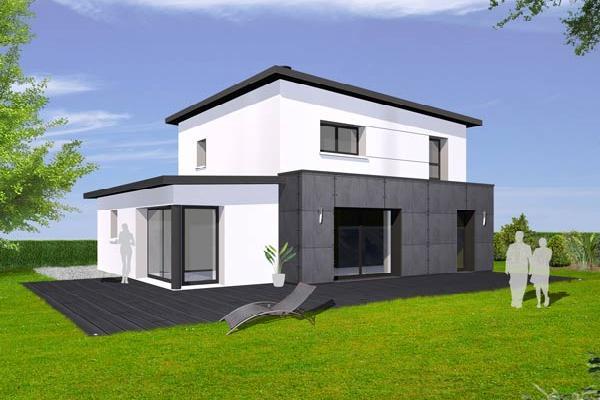plan-maison-contemporaine-gratuitjpg (800×439) Projets Pavillons - modeles de maison a construire