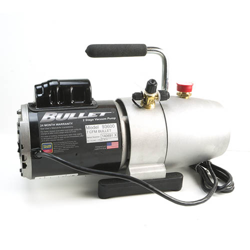 Yellow Jacket 93600 BULLET 1/2 hp 7 CFM Two-Stage Rotary Vane Vacuum