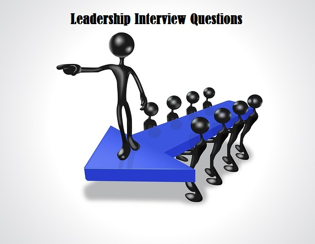 Must prepared Leadership interview questions with hints to answer