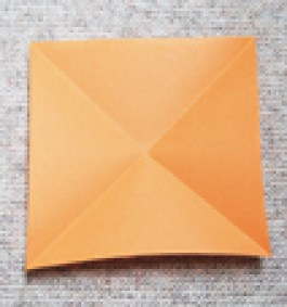 pli des diagonales