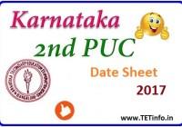 karnataka-2nd-puc-date-sheet-2017