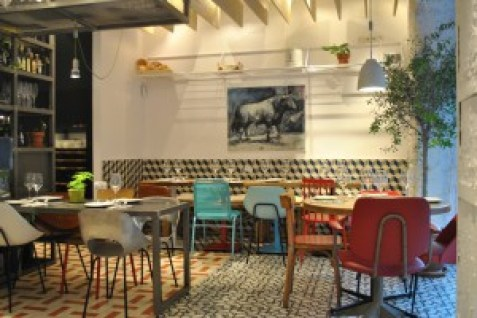 Taberna Pedraza esquina comedor Te Veo en Madrid