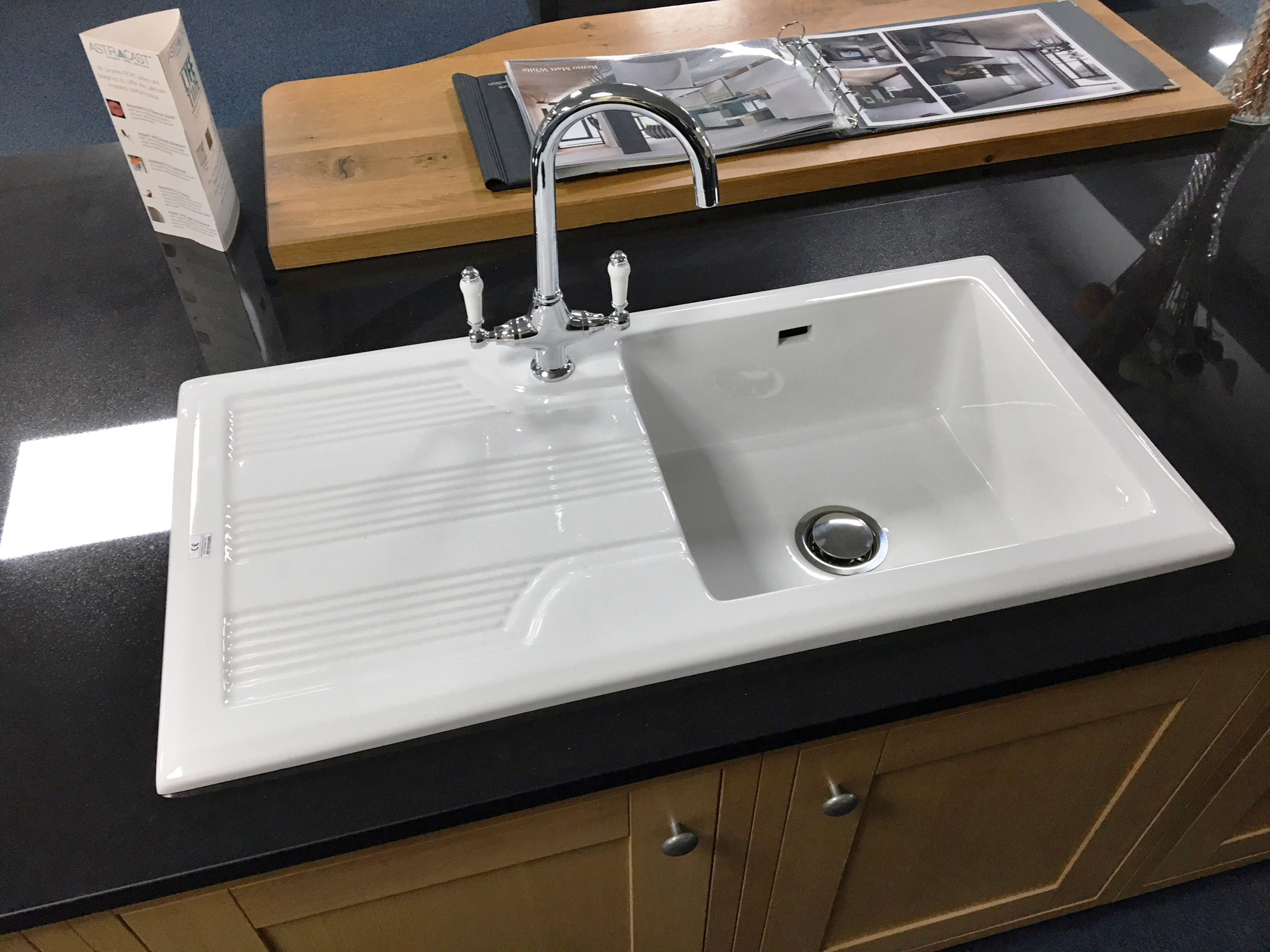 Rak Ceramic Single Bowl Kitchen Sink With Waste And