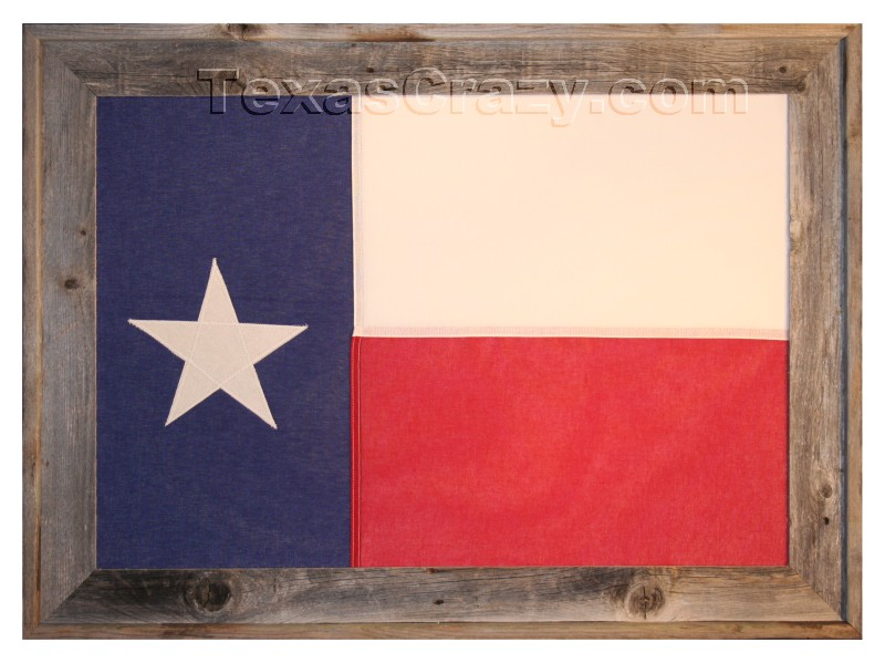 Buy Large Texas Flag Framed - Texas Home Office Wall Decor
