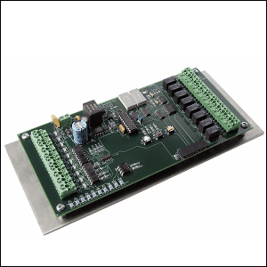 The Electronic Solutions ES550 is a versatile microprocessor-controlled interlock module which may be used for a variety of door applications.