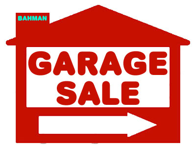 Garage Sale Sign Ordinance for city of Frisco Texas - sale signs
