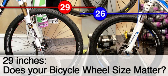 29 Inches: Does Your Bicycle Wheel Size Matter?