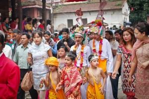 Gaijatra Celebration 2070 BS in  Kathmandu - TexasNepal Entertainment