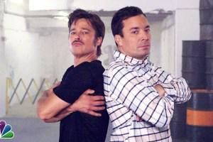 Breakdance Conversation with Jimmy Fallon & Brad Pitt - TexasNepal News