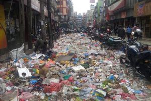 Today In New Road: Sea Of Waste - TexasNepal News