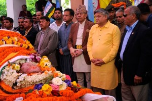 President's Condolence Message For Former PM Thapa's Passing Away - TexasNepal News