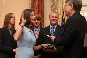 Alaina B. Teplitz Sworn In As The Next US Ambassador To Nepal - TexasNepal News
