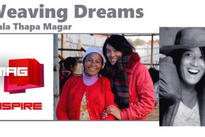 M&S VMAG: Weaving Dreams Mala Thapa Magar - TexasNepal News