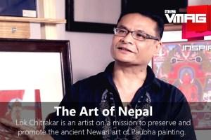 M&S Inspire: The Nepali Fine Art of Paubha Painting with Lok Chitrakar - TexasNepal News