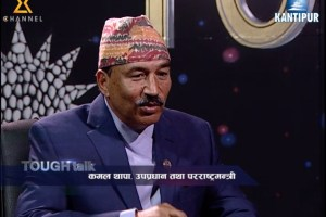 Tough Talk with Foreign Minister Kamal Thapa - TexasNepal News