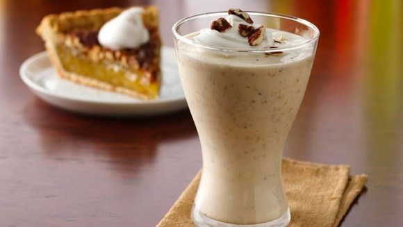 Bourbon Pecan Pie Milk Shakes