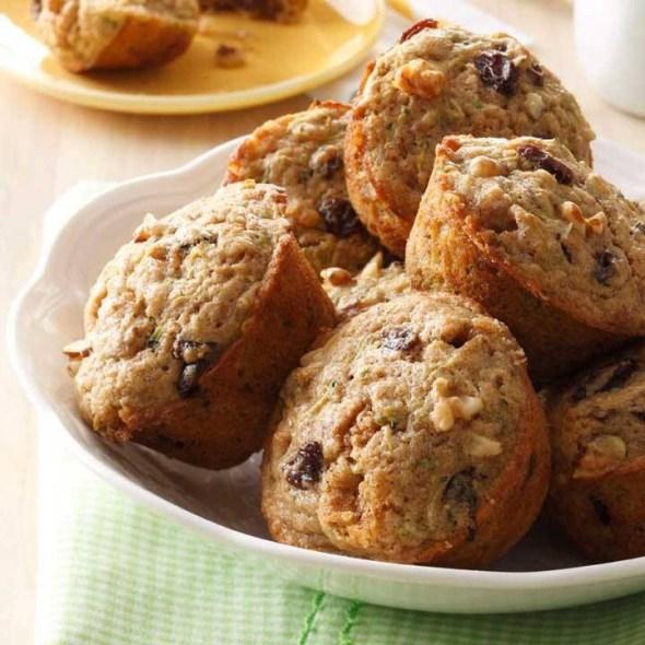 Pecan Zucchini Muffins