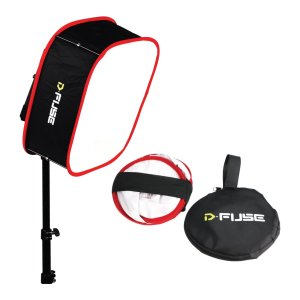 Kamerar-Dfuse-Collapsible-Softbox-for-Aputure-Amaran-528672-LED-Light-Panels-Foldable-Portable-Diffuser-Strap-Attach-B01GQOO068