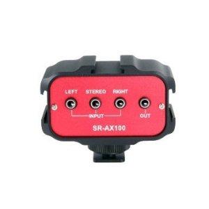 Saramonic-SR-AX100-2-Channel-35mm-Audio-Adapter-RedBlack-B00N2GJCB2