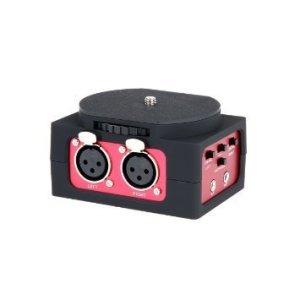 Saramonic-SR-AX101-2-Channel-XLR-Audio-Adapter-with-35mm-Output-RedBlack-B00N2G3JUC