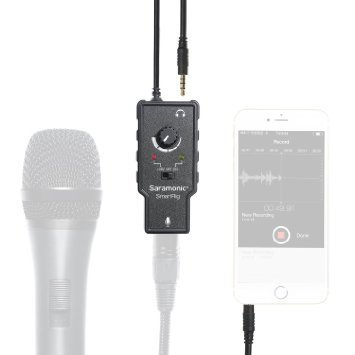 Saramonic-SmartRig-Audio-Adapter-for-Smartphones-Black-B00WITIHZ6