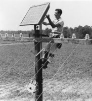 1st Solar Panels - developed in Bell Labs - photo from Green Energy Times