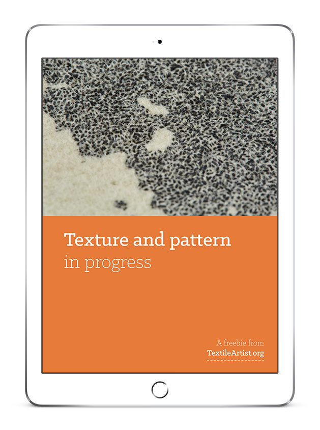 Creating texture and pattern with stitch - TextileArtistorg