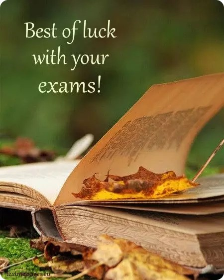 Top 50 Good Luck For Exam Messages And Wishes With Images