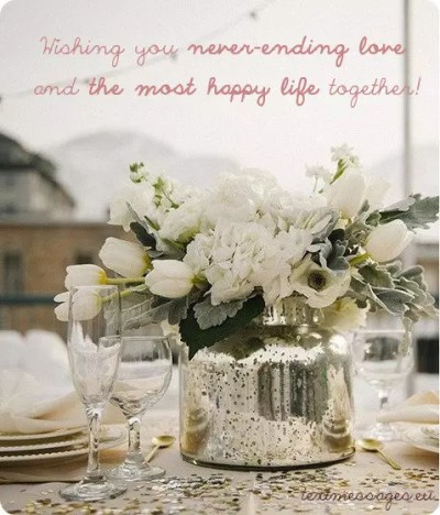 Short Wedding Wishes, Quotes & Messages (With Images)