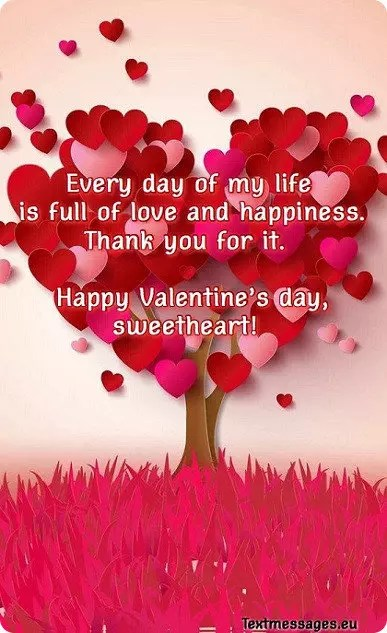 50 Cute Valentine\u0027s Day Messages For Her (Girlfriend Or Wife) With