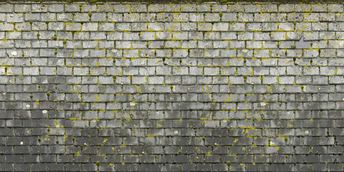 Grey Brick Wallpaper 3d Rooftilesslate0056 Free Background Texture Roof