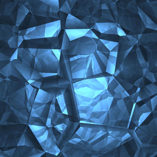 3d Geometric Wallpaper For Walls Illuminated Blue Light Pictures
