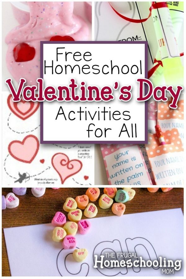Free Valentine\u0027s Day Printables, Activities, and Homeschool Resources