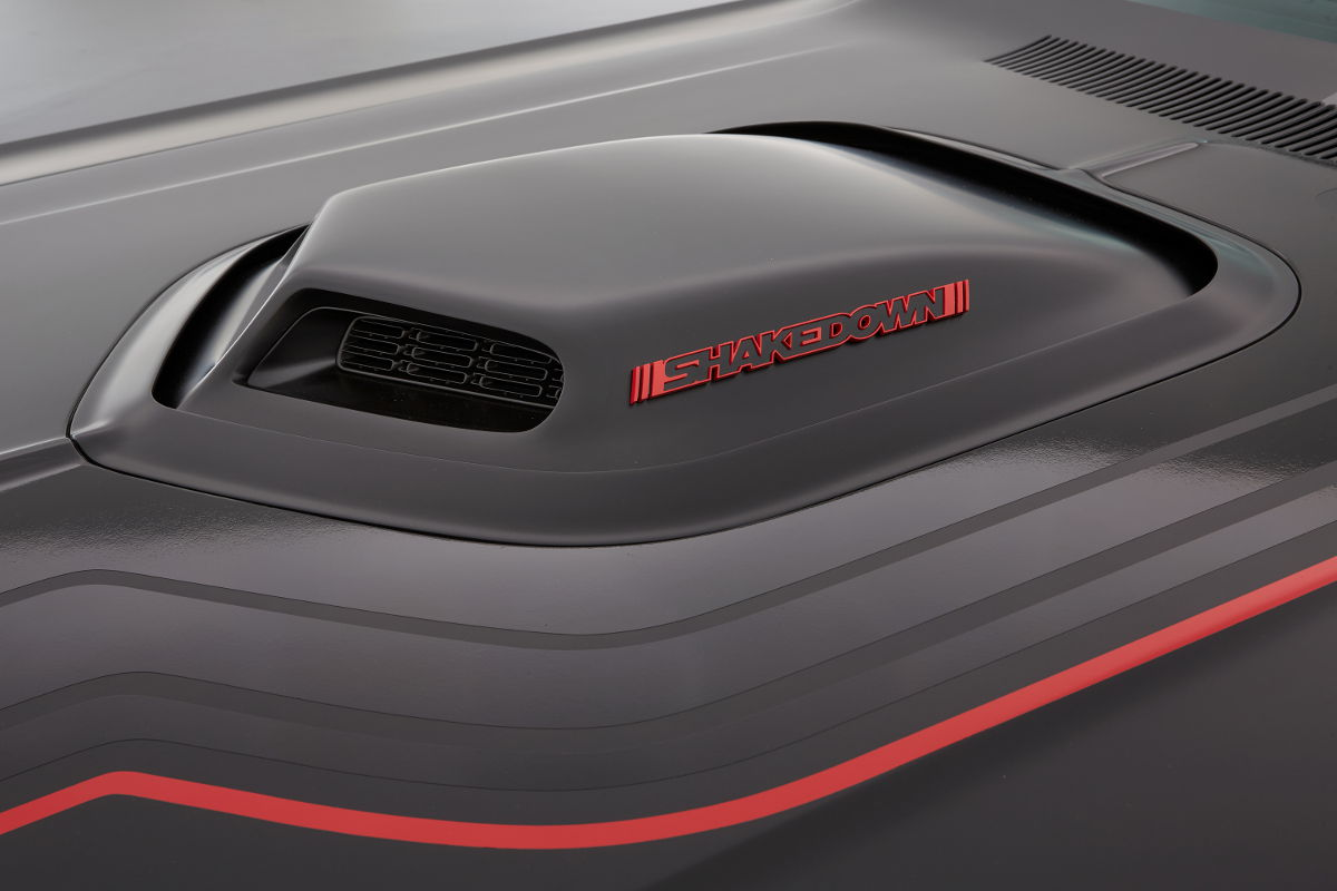 Car Interior Wallpaper Dodge S Shakedown Challenger Melds Classic Looks With