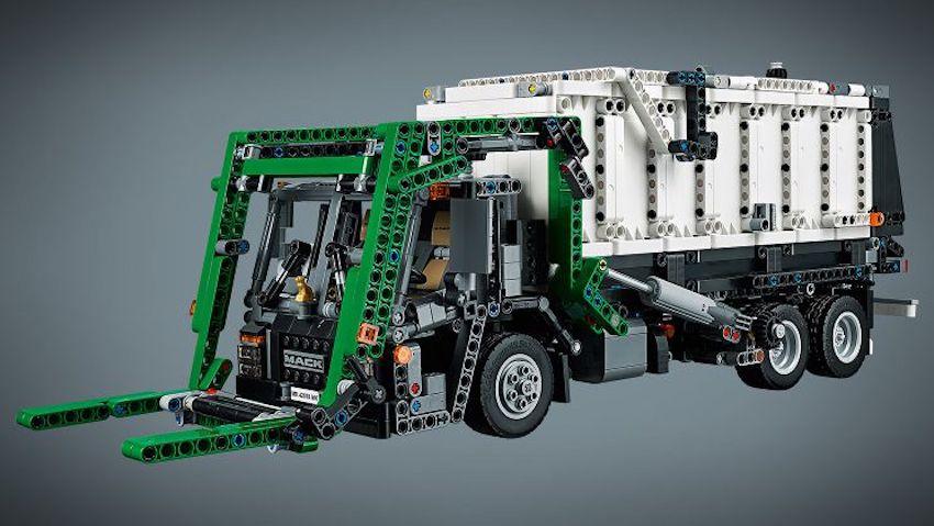 2018-mack-truck-anthem-lego-technic-trash-refuse - The Fast Lane Truck