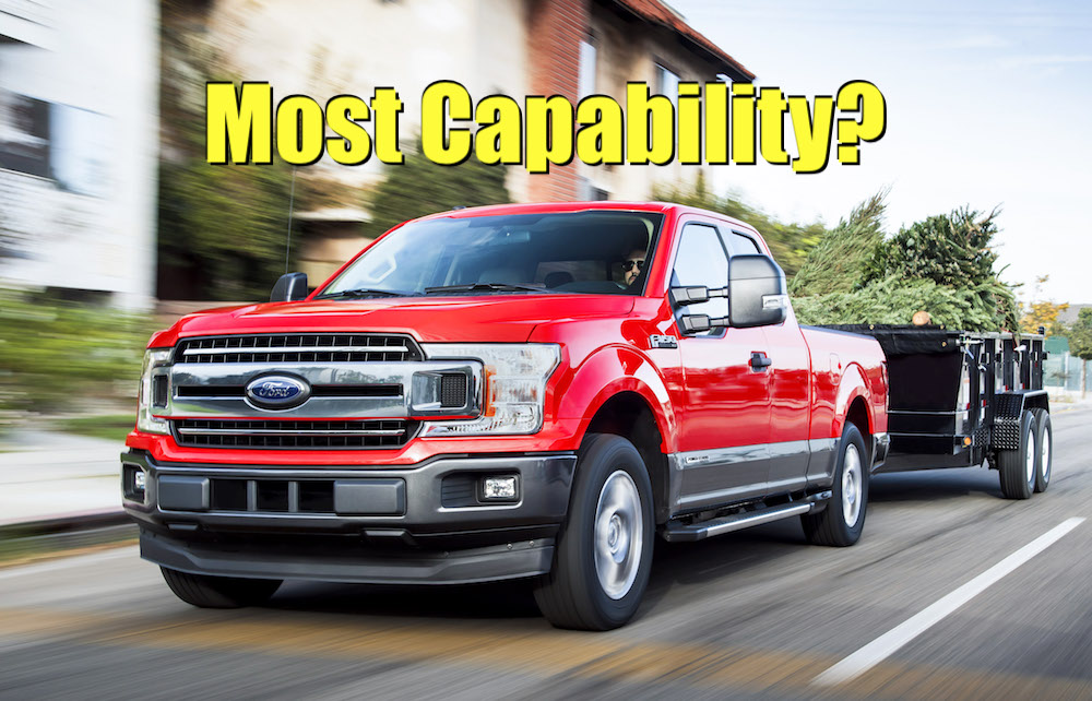 Which 2019 Half-Ton Truck Has the Highest Payload and Towing