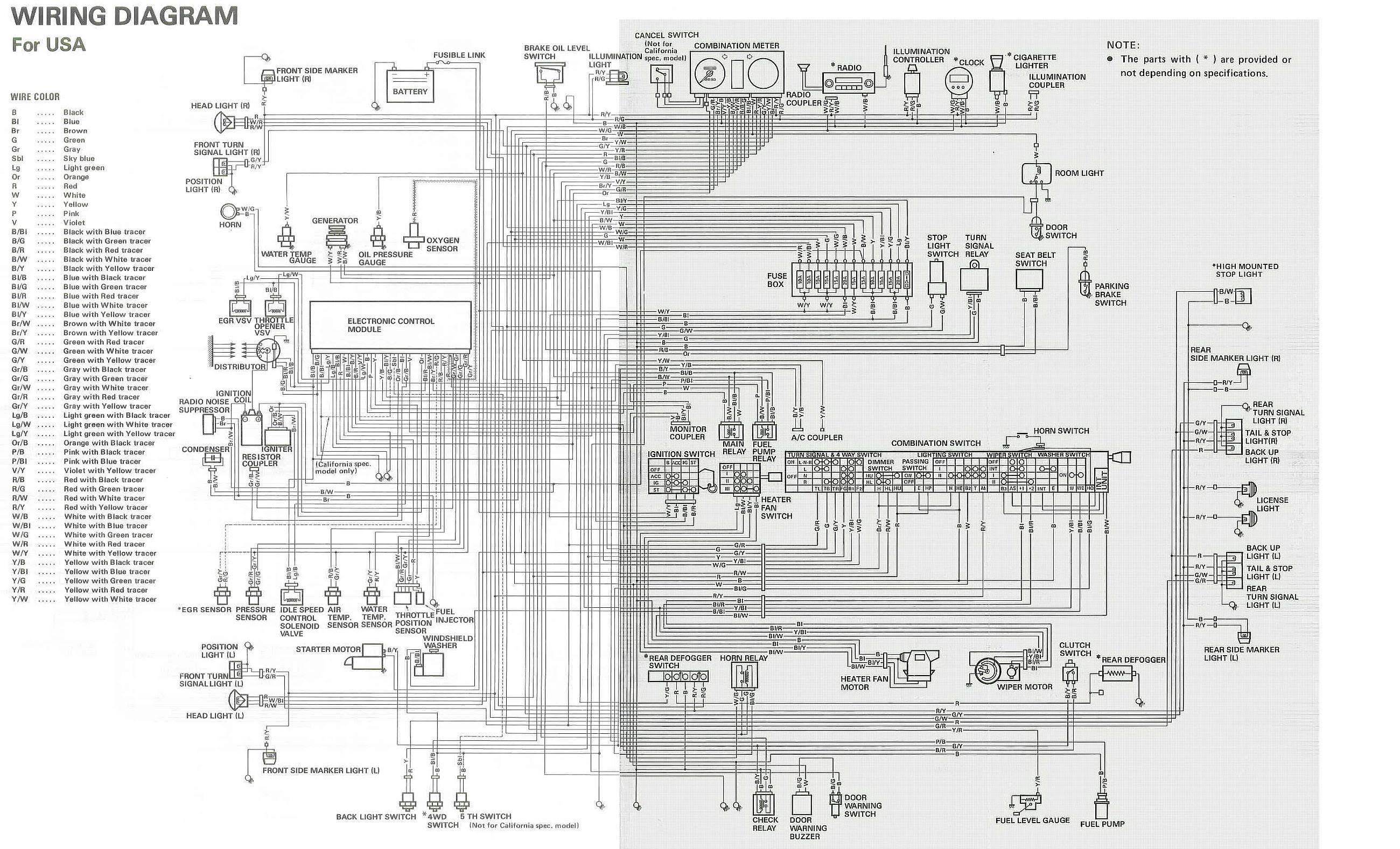 suzuki jimny ecu wiring diagram