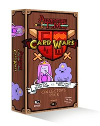 Adventure Time Card Wars Princess Bubblegum vs Lumpy Space Princess game review