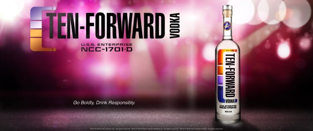 Star Trek Ten Forward Vodka