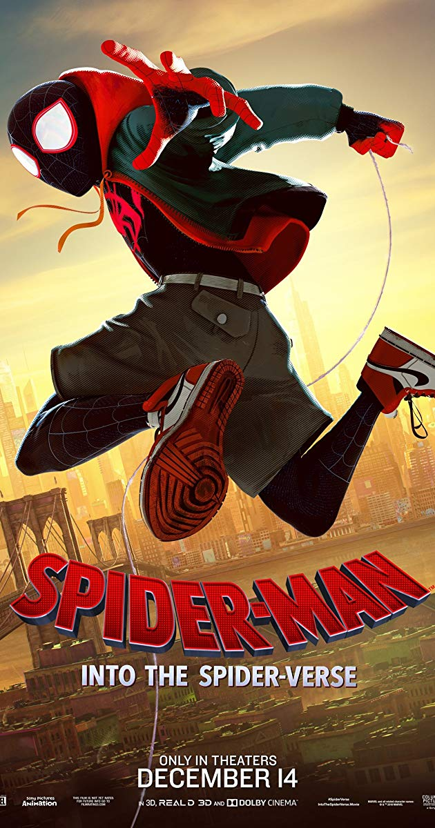 Spider-Man Into the Spider-Verse 4k
