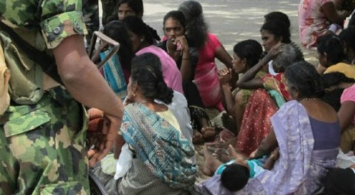 "As the World Celebrates International Women's day, Tamil women are held in ""Rape Camps"": TGTE"