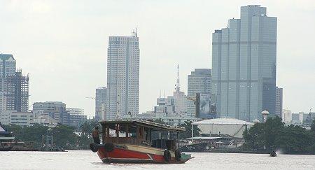 Boat on the Chao Phraya River